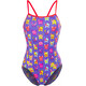 Funkita Single Strap One Piece Svømmedragt Damer violet/farverig